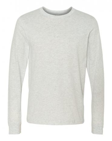 BELLA+CANVAS 3501 Long Sleeve T-Shirt ASH