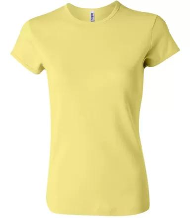 BELLA 1001 Womens Crew Neck T-shirt YELLOW