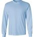 2400 Gildan Ultra Cotton Long Sleeve T Shirt  LIGHT BLUE