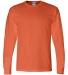 8400 Gildan 5.6 oz. Ultra Blend® 50/50 Long-Sleeve T-Shirt ORANGE