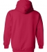 18500 Gildan Heavyweight Blend Hooded Sweatshirt CHERRY RED