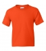 8000B Gildan Ultra Blend 50/50 Youth T-shirt ORANGE