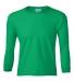 2400B  Gildan Youth 6.1 oz. Ultra Cotton® Long-Sleeve T-Shirt IRISH GREEN