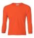 2400B  Gildan Youth 6.1 oz. Ultra Cotton® Long-Sleeve T-Shirt ORANGE