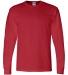 8400 Gildan 5.6 oz. Ultra Blend® 50/50 Long-Sleeve T-Shirt RED