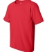 5000B Gildan™ Heavyweight Cotton Youth T-shirt  RED
