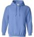 18500 Gildan Heavyweight Blend Hooded Sweatshirt CAROLINA BLUE