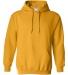 18500 Gildan Heavyweight Blend Hooded Sweatshirt GOLD