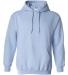 18500 Gildan Heavyweight Blend Hooded Sweatshirt LIGHT BLUE