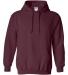 18500 Gildan Heavyweight Blend Hooded Sweatshirt MAROON