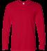 64400 Gildan Adult Softstyle Long-Sleeve T-Shirt CHERRY RED