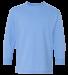 5400B Gildan Youth Heavy Cotton Long Sleeve T-Shirt CAROLINA BLUE