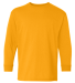 5400B Gildan Youth Heavy Cotton Long Sleeve T-Shirt GOLD