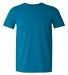 Gildan 64000 G640 Soft Style 30 Singles Ring-spun T-shirt  ANTQUE SAPPHIRE