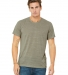 BELLA+CANVAS 3650 Mens Poly-Cotton T-Shirt STONE MARBLE