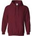 18500 Gildan Heavyweight Blend Hooded Sweatshirt GARNET