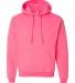 18500 Gildan Heavyweight Blend Hooded Sweatshirt SAFETY PINK