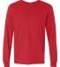 SFL Fruit of the Loom Adult Sofspun™ Long-Sleeve T-Shirt  FIERY RED