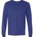 SFL Fruit of the Loom Adult Sofspun™ Long-Sleeve T-Shirt  ROYAL