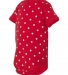 4400 Onsie Rabbit Skins® Infant Lap Shoulder Creeper RED/ WHITE DOT