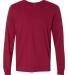 SFL Fruit of the Loom Adult Sofspun™ Long-Sleeve T-Shirt  CARDINAL