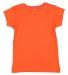 3316 Rabbit Skins® Toddler Girls Fine Jersey T-Shirt ORANGE