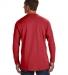 52 498L Nano-T® Long Sleeve Tee DEEP RED