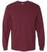 5400 Gildan Adult Heavy Cotton Long-Sleeve T-Shirt MAROON