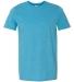 Gildan 64000 G640 Soft Style 30 Singles Ring-spun T-shirt  HEATHER SAPPHIRE