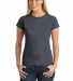 64000L Gildan Ladies 4.5 oz. SoftStyle™ Ringspun T-Shirt DARK HEATHER