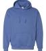 18500 Gildan Heavyweight Blend Hooded Sweatshirt HTHR SPORT ROYAL