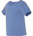 3413B Bella + Canvas Triblend Baby Short Sleeve Tee BLUE TRIBLEND