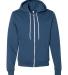 F497 American Apparel Flex Fleece Zip Hoody SEA BLUE