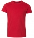 2201W Youth Fine Jersey T-Shirt RED