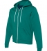 F497 American Apparel Flex Fleece Zip Hoody ULTRA BLUE