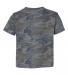 3321 Rabbit Skins Toddler Fine Jersey T-Shirt VINTAGE CAMO