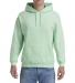 18500 Gildan Heavyweight Blend Hooded Sweatshirt MINT GREEN