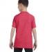 5000B Gildan™ Heavyweight Cotton Youth T-shirt  HEATHER RED