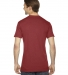 TR401W Triblend Track T-Shirt TRI RED