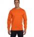 8400 Gildan 5.6 oz. Ultra Blend® 50/50 Long-Sleeve T-Shirt S ORANGE