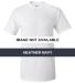 Gildan 2000 Ultra Cotton T-Shirt G200 HEATHER NAVY