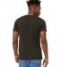 BELLA+CANVAS 3413 Unisex Howard Tri-blend T-shirt ESPRESSO TRBLND