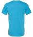 BELLA+CANVAS 3413 Unisex Howard Tri-blend T-shirt AQUA TRIBLEND
