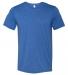 BELLA+CANVAS 3413 Unisex Howard Tri-blend T-shirt TRUE ROYAL TRBLN
