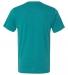 BELLA+CANVAS 3413 Unisex Howard Tri-blend T-shirt TEAL TRIBLEND