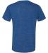BELLA+CANVAS 3005 Cotton V-Neck T-shirt TRUE ROYAL MRBLE