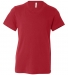 BELLA+CANVAS 3001Y Jersey Youth T-Shirt RED