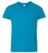 BELLA+CANVAS 3001Y Jersey Youth T-Shirt NEON BLUE
