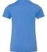 BELLA+CANVAS 3001Y Jersey Youth T-Shirt HTHR COLUM BLUE