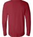 BELLA+CANVAS 3501 Long Sleeve T-Shirt CARDINAL